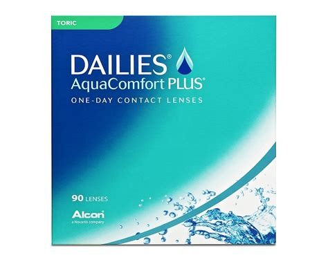 Dailies AquaComfort Plus Toric 90er Box
