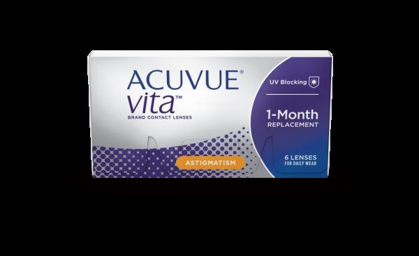 Acuvue Vita for Astigmatism Monatslinse